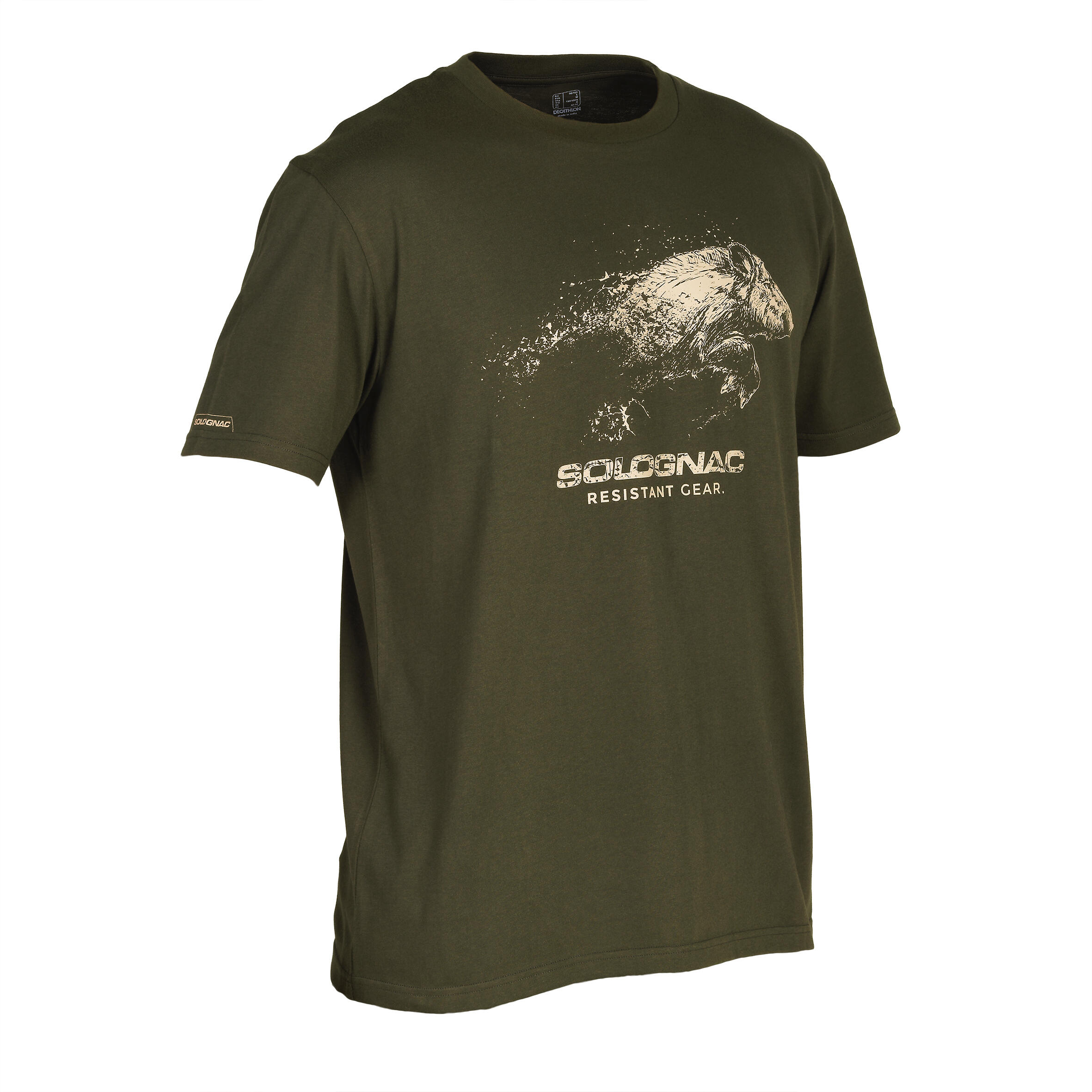 Solognac T-shirt SG100 voor de jacht everzwijn