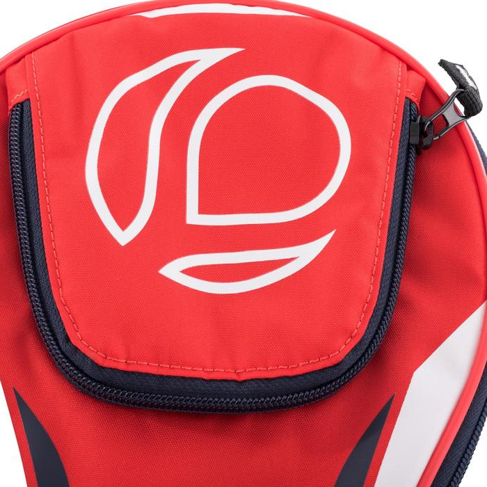 Tafeltennis hoesje TTC 130 rood