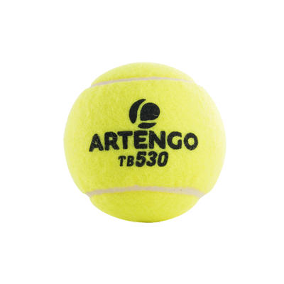 Competition Tennis Balls 530 4-Pack - Yellow