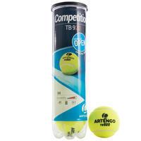 """Teniso kamuoliukai """"TB920"""", 4 vienetų pakuotė, geltoni"""
