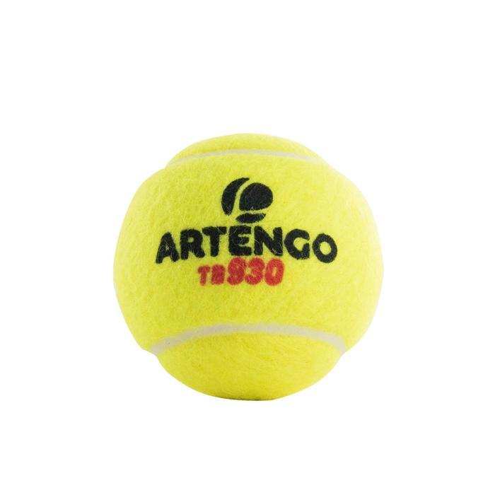 Tennisballen TB930 2 kokers met 4 stuks geel