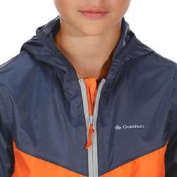 Chaqueta impermeable de montaña niños 2 A 6 AÑOS MH150 azul/naranja