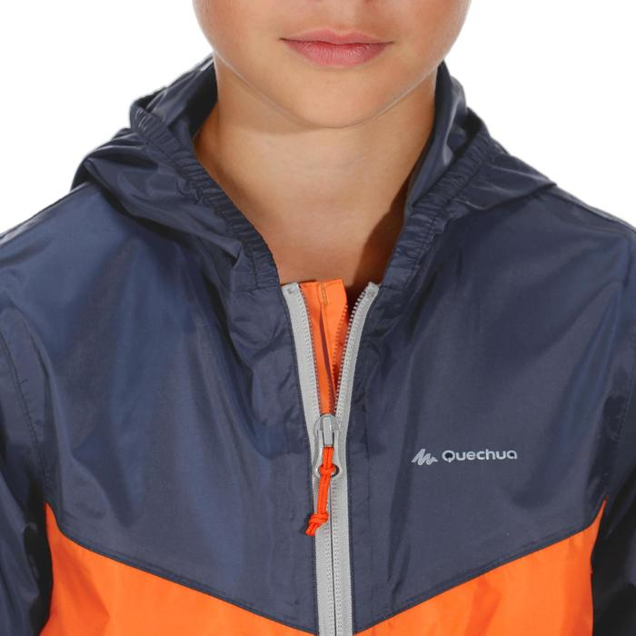 Wanderjacke MH150 wasserdicht Kinder 2–6 Jahre blau/orange