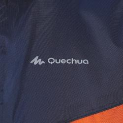 Veste imperméable de randonnée enfant MH150 bleue/orange 2 AU 6 ANS