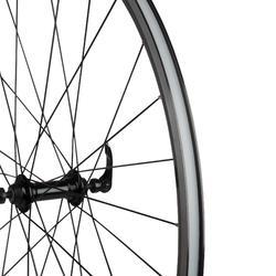 Rennrad-Vorderrad 700 Doppelwand Triban 100