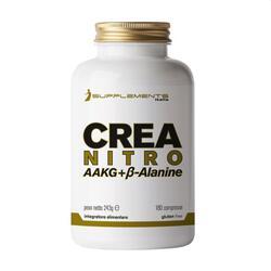 Creatina Isupplements Argininia Beta Alanina iCrea NitroAAKG Gluten Free 180cpr