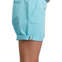 Women's Golf Bermuda Shorts 500 - Blue Lagoon