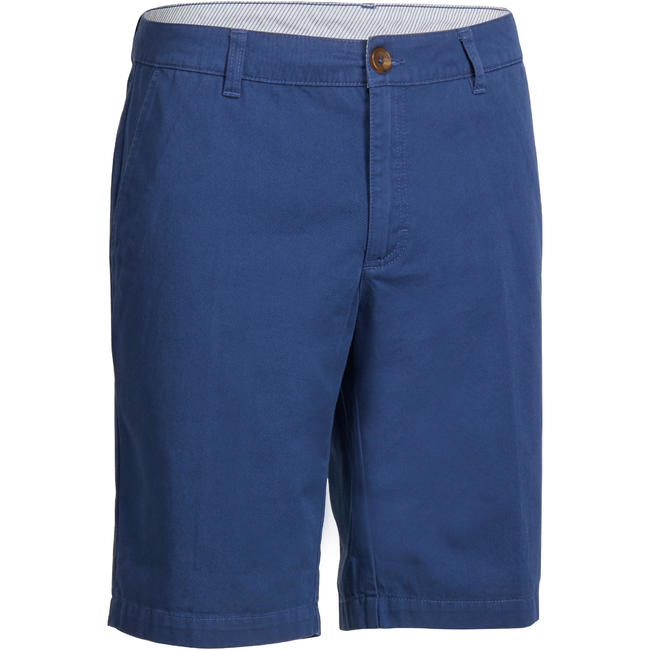 MEN'S BERMUDA GOLF SHORTS BLUE