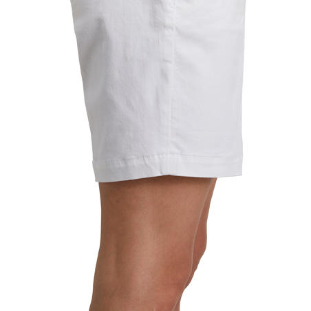 Women Golf Shorts 500 - White