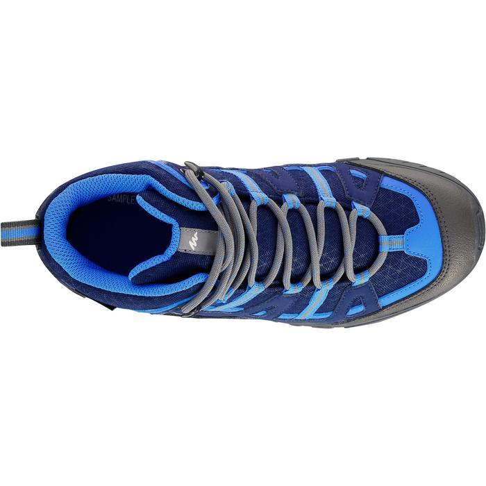 Chaussures de randonnée enfant NH500 Mid imperméables JR corail - 1150514