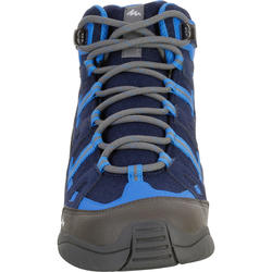NH500 JR Mid Waterproof Hiking Shoes - Blue