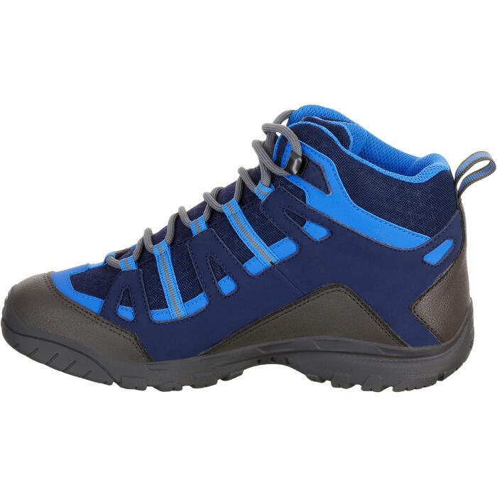Chaussures de randonnée enfant NH500 Mid imperméables JR corail - 1150525