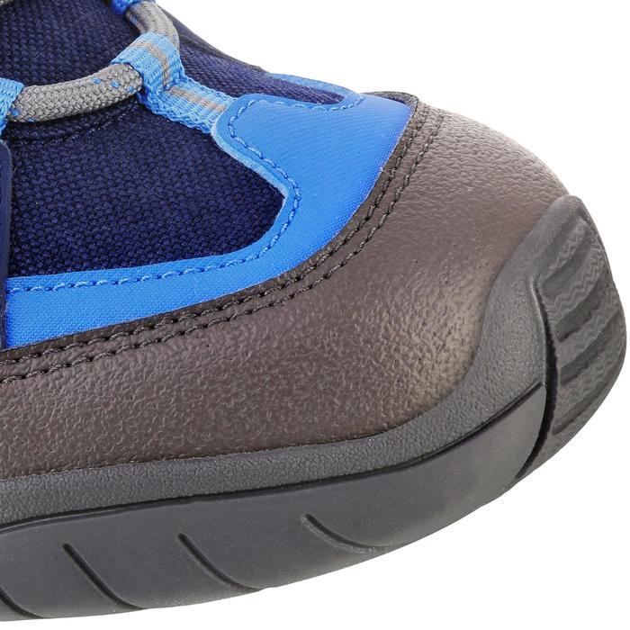 Botas de senderismo niños NH500 Mid impermeable JR Azul