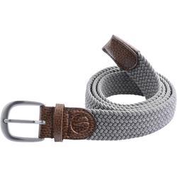 Cinturón de golf extensible 500 adulto gris talla 1