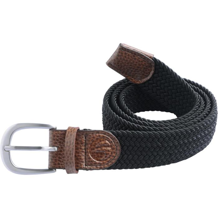 Cinturón de golf extensible 500 adulto negro talla 1