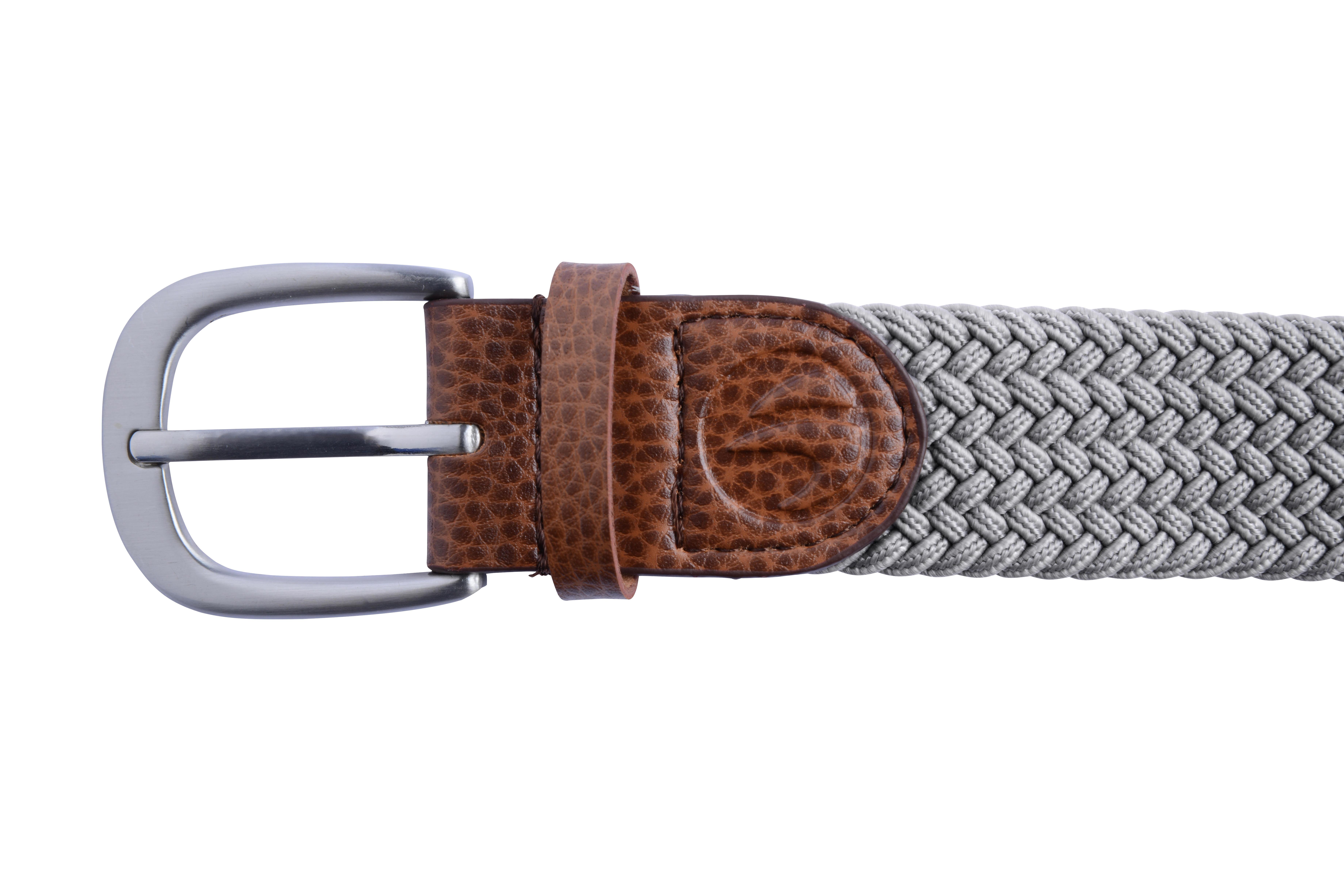 Adult Golf Size 1 Stretchy Belt 500 Grey
