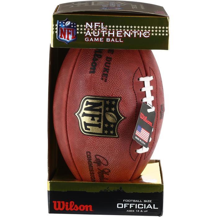 Ballon de Football américain pour adulte NFL GAME BALL DUKE - 1150736
