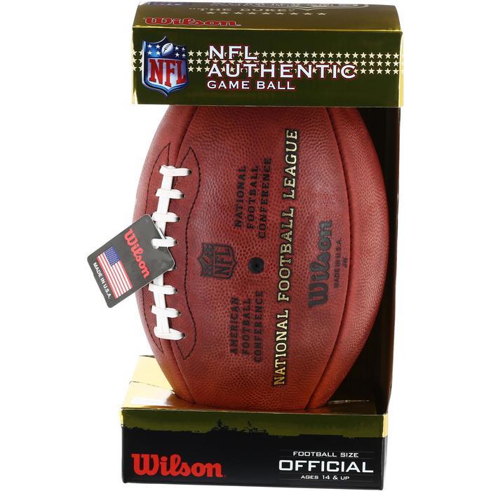 Ballon de Football américain pour adulte NFL GAME BALL DUKE - 1150737