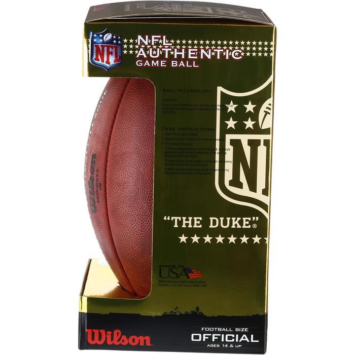 Ballon de Football américain pour adulte NFL GAME BALL DUKE - 1150738