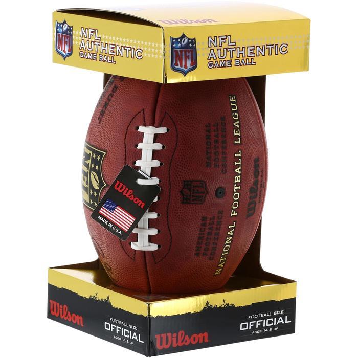 Ballon de Football américain pour adulte NFL GAME BALL DUKE - 1150742