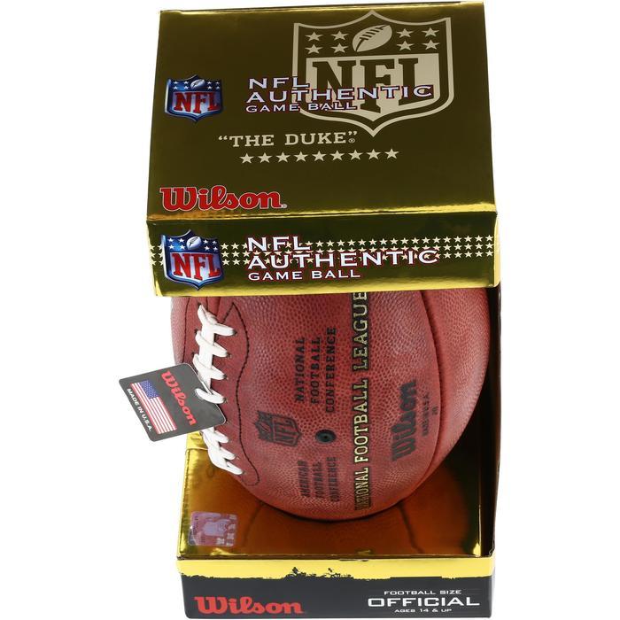 Ballon de Football américain pour adulte NFL GAME BALL DUKE - 1150743
