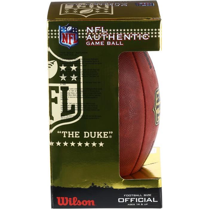 Ballon de Football américain pour adulte NFL GAME BALL DUKE - 1150747