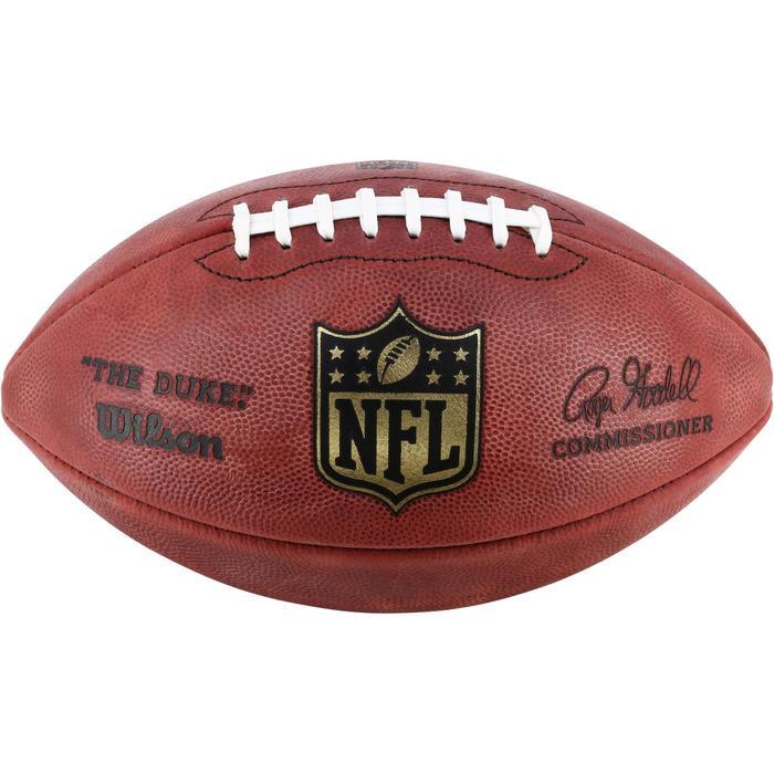 Ballon de Football américain pour adulte NFL GAME BALL DUKE - 1150748