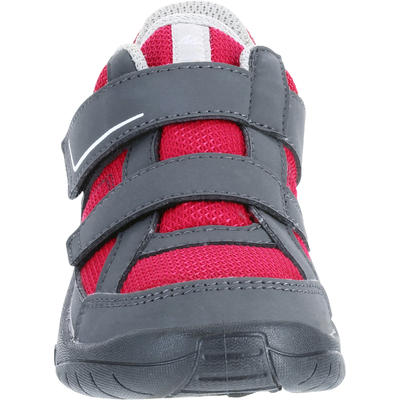 Kid's Hiking Shoes MH100 JR Pink baby size 5 to adult size 5