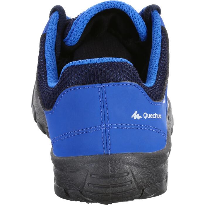 Zapatillas de senderismo júnior MH100 JR azul