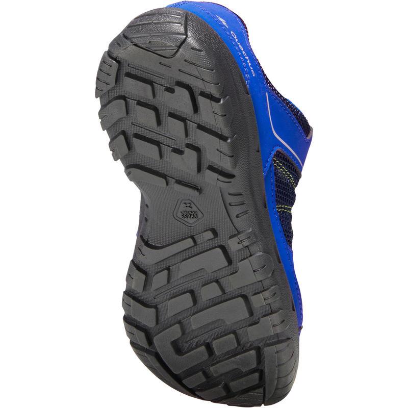 Kids Hiking Shoes MH100 JR - Blue