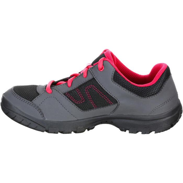 Zapatillas de senderismo júnior NH100 JR Rosa TALLA 22 A 38