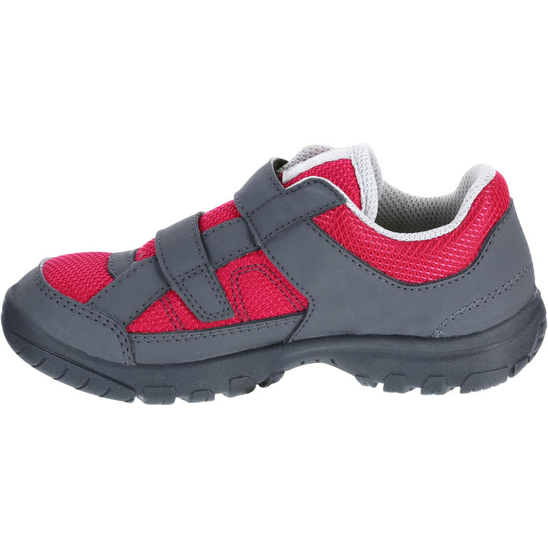 Kids Hiking Shoes MH100 JR - Pink