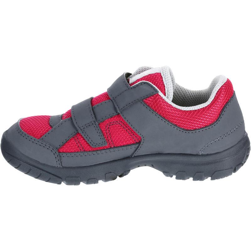 Kids Mountain Hiking Shoes MH100 JR - Pink