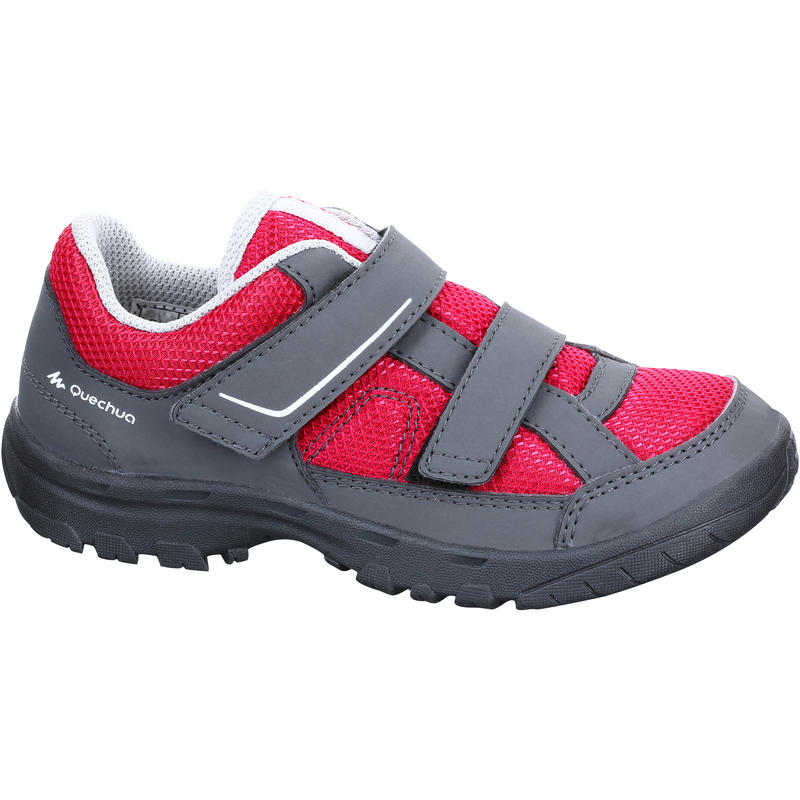 Kids Mountain Hiking Shoes MH100 JR - Pink
