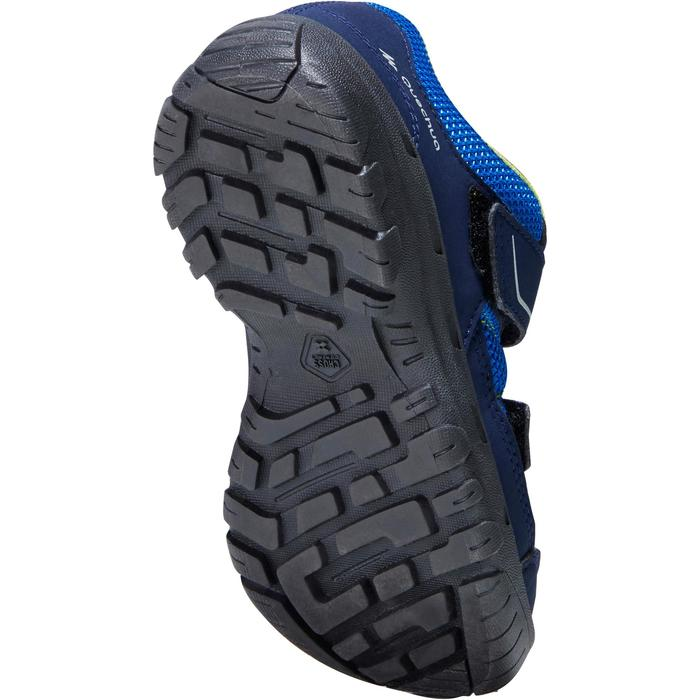 Chaussures de randonnée enfant MH100 JR bleues 22-38