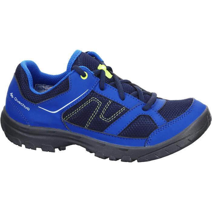Zapatillas de senderismo niños NH100 JR Azul TALLA 22 A 38