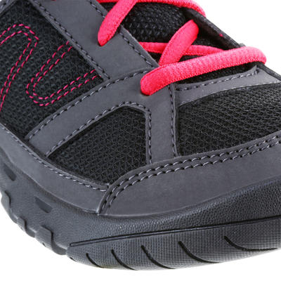 נעלי טיולים לילדים NH100 - ורוד