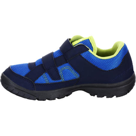 MH100 Junior Kids Hiking Boots - Blue