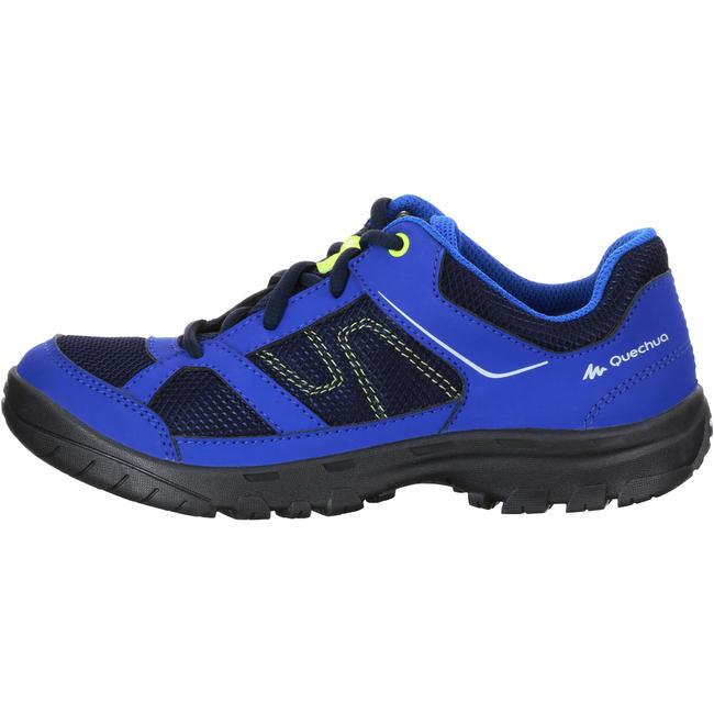 Kid's Hiking Shoes MH100 JR - Blue