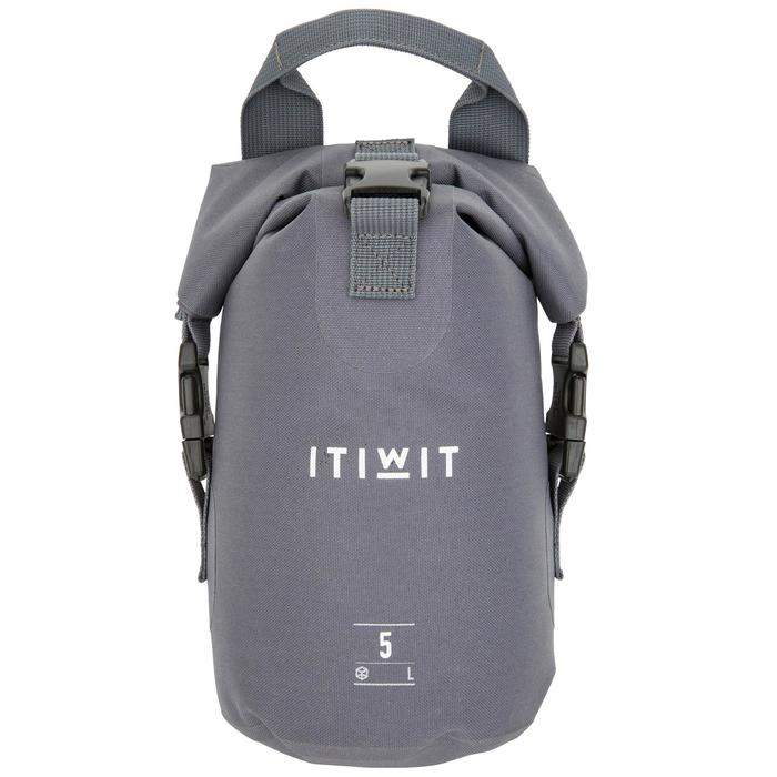 Wasserfeste Tasche 5L grau