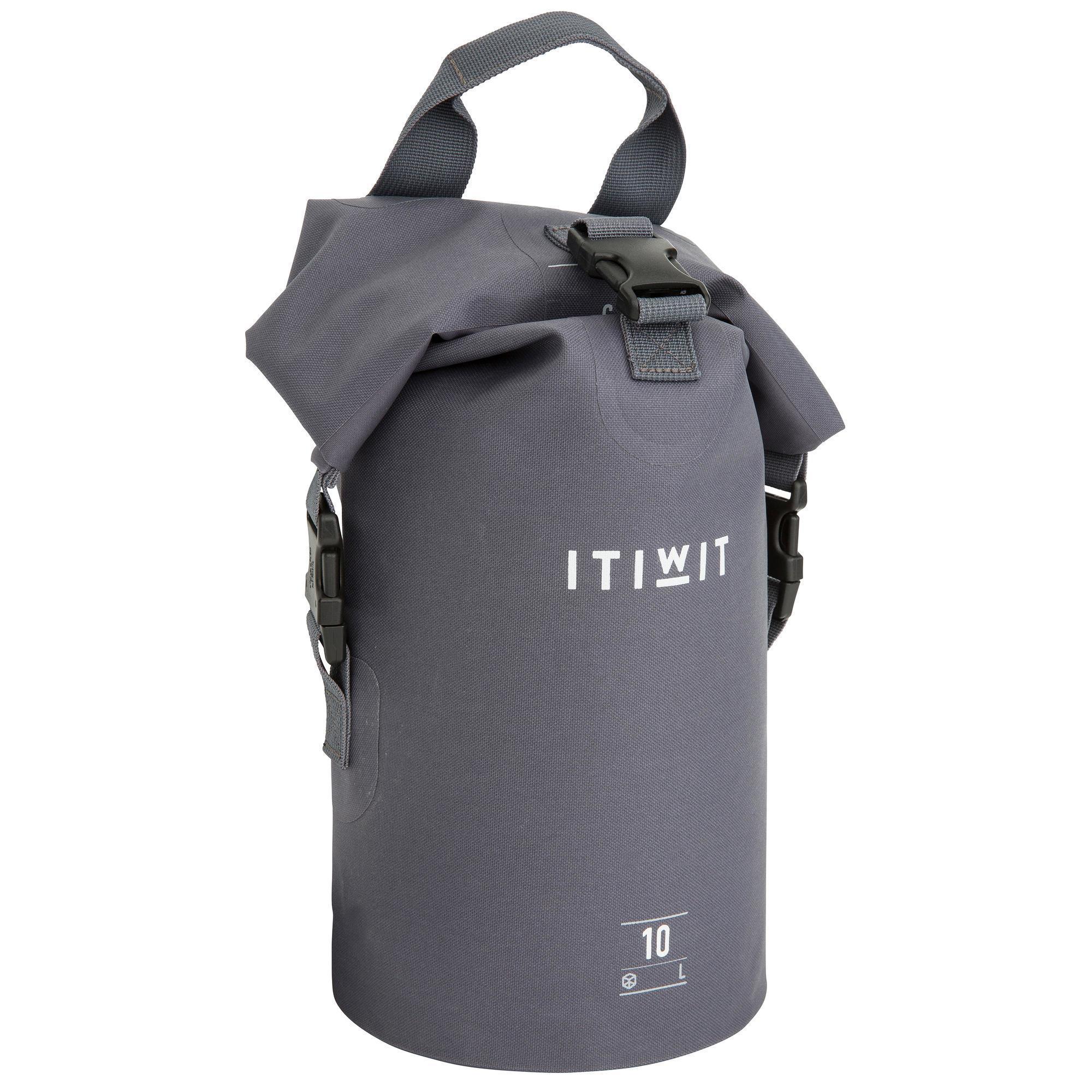 3ad27966f92 Itiwit Waterdichte rugzak duffle bag 10 l - Itiwit - Decathlon.nl ...
