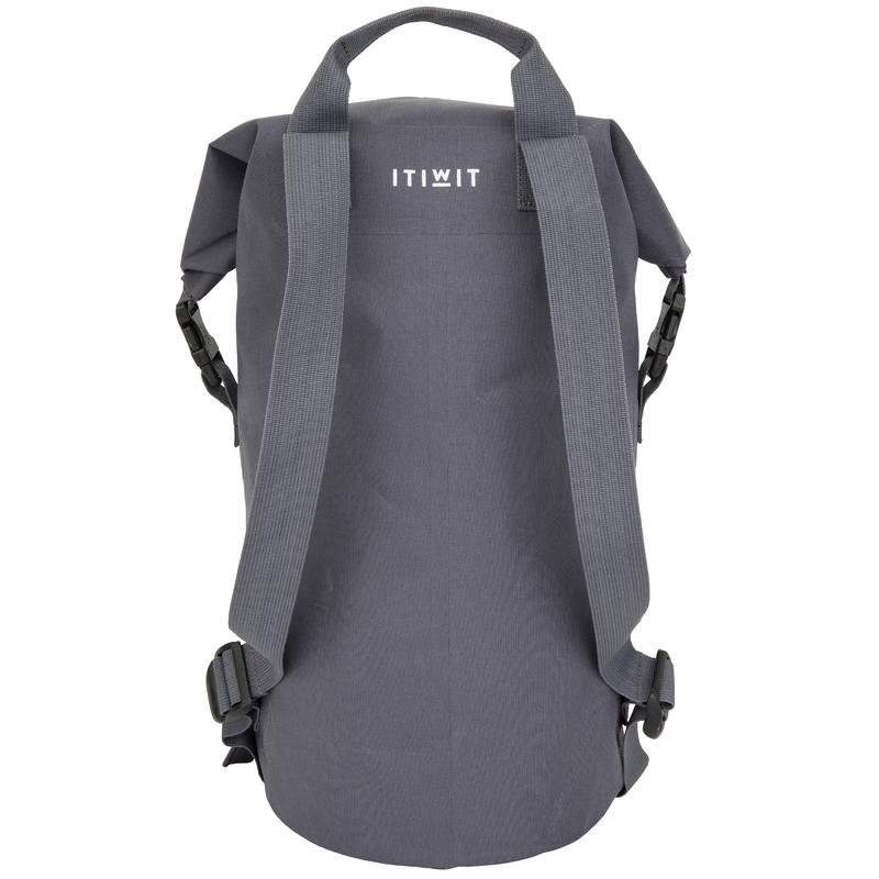 30L Watertight Duffel Bag Grey