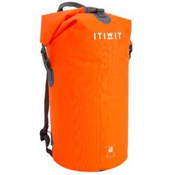 40L 環保材質防水行李袋- 橘色