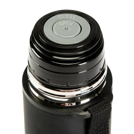 0.5 litre quick open flask - black