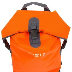 Waterdichte rugzak 30 l oranje