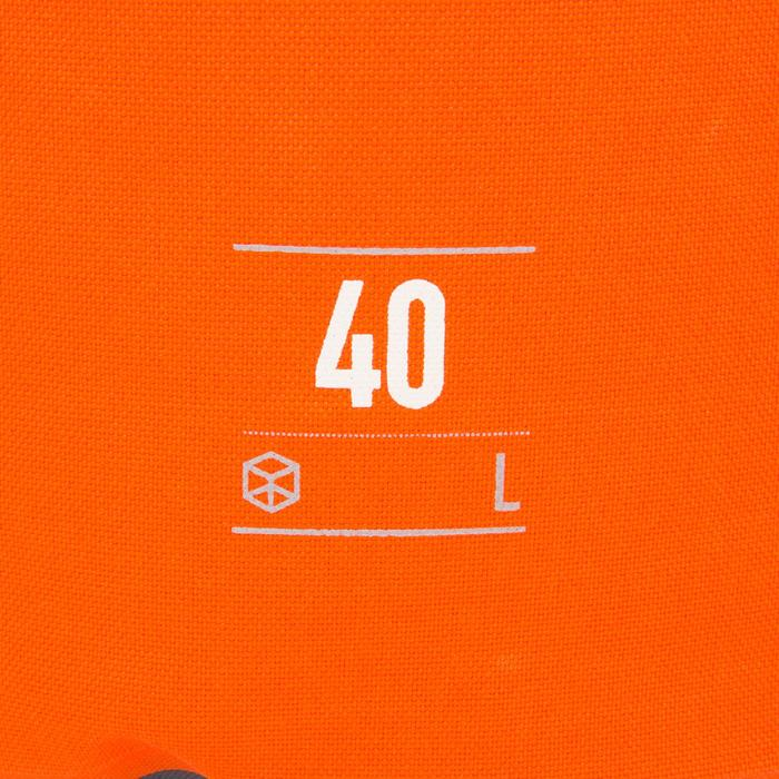 Waterdichte plunjezak 40 l oranje