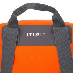 防水行李包40 L-橘色