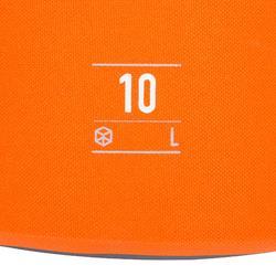 Wasserfeste Tasche Seesack 10 l ohne Umhängegurt orange