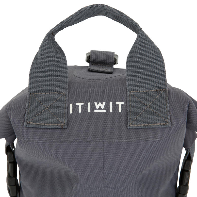 10L WATERTIGHT DUFFEL BAG GREY without