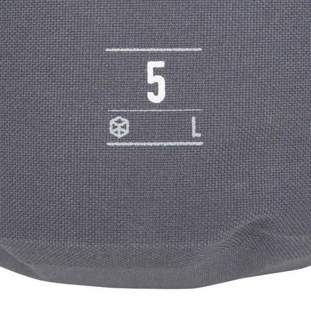 5L Watertight Duffel Bag Grey